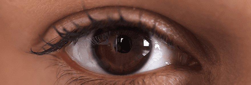 décongestionner les yeux gonflés